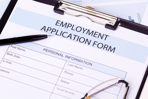 Employment Hiring Application